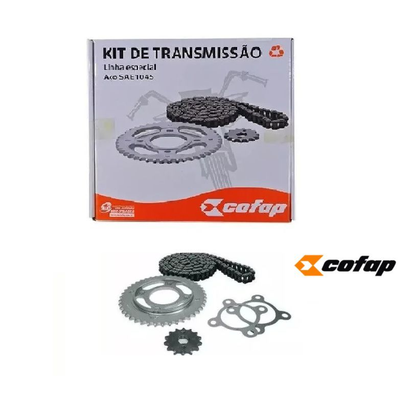 Kit relação Completo YAMAHA Yes 150 Fazer 2013/15 Cofap