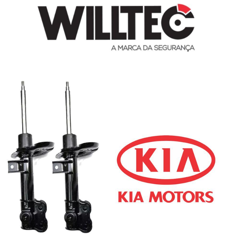 Par Amortecedor Dianteiro Kia Optima Sonata 2010 a 2012 Willtec