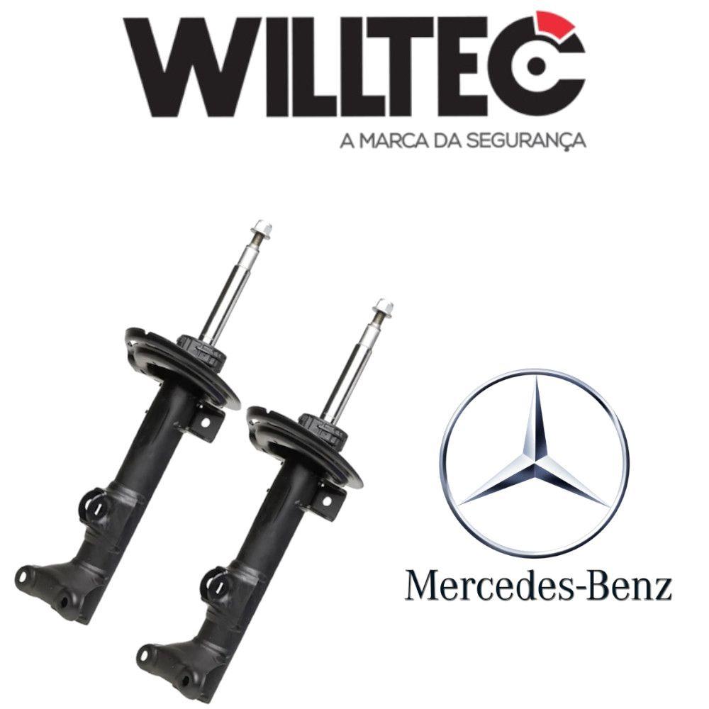 Amortecedor Dianteiro Mercedes C180 C200 C350 2008/2014 Willtec