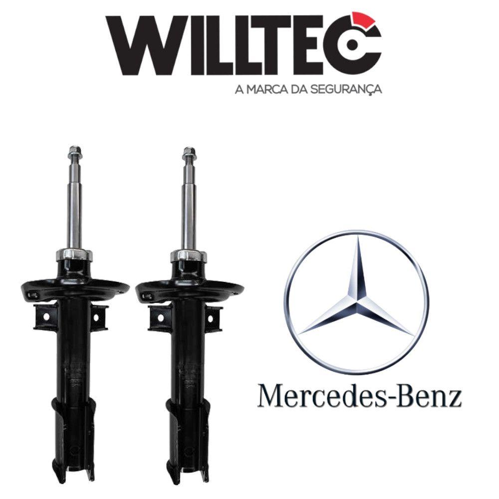 Par Amortecedores Dianteiros Mercedes Glk 2013 a 2015 Willtec