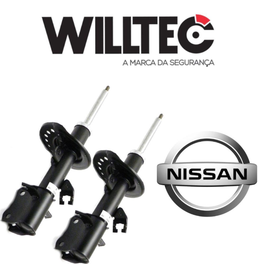 Par Amortecedor Dianteiro Nissan Sentra 2013 a 2018 Willtec
