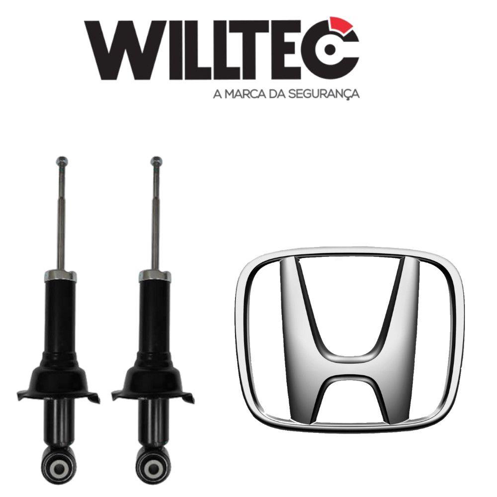 Par Amortecedores Traseiros Honda CR-V 2007 a 2011 Willtec