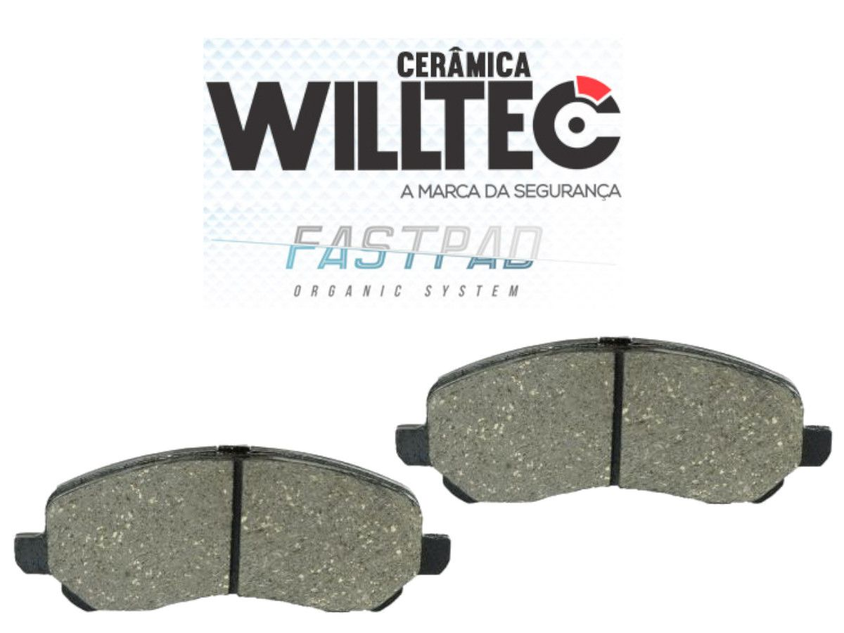 Pastilha Freio Dianteira Cerâmica Airtrek ASX Lancer 10/..OutLander