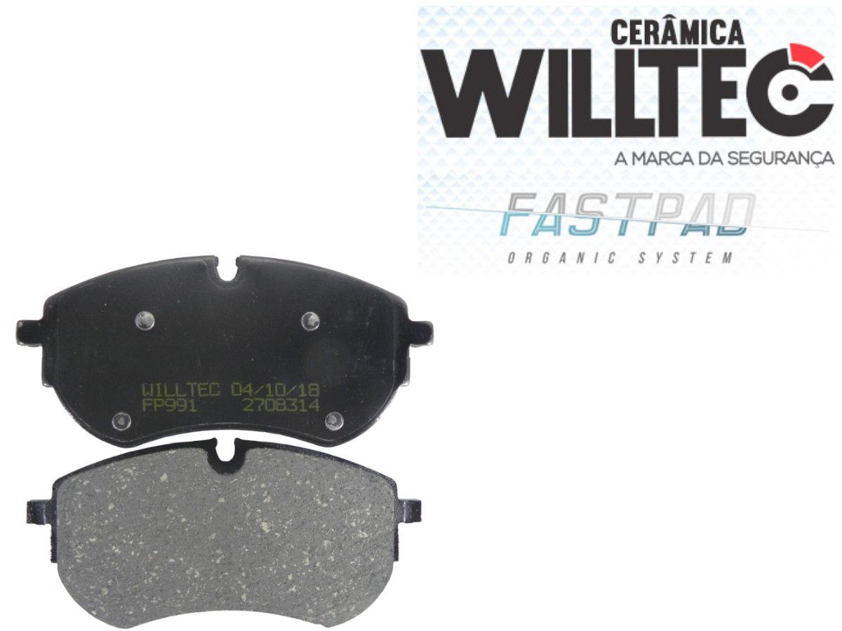 Pastilha Freio Dianteira Cerâmica Amarok V6 2018 Em Diante Willtec