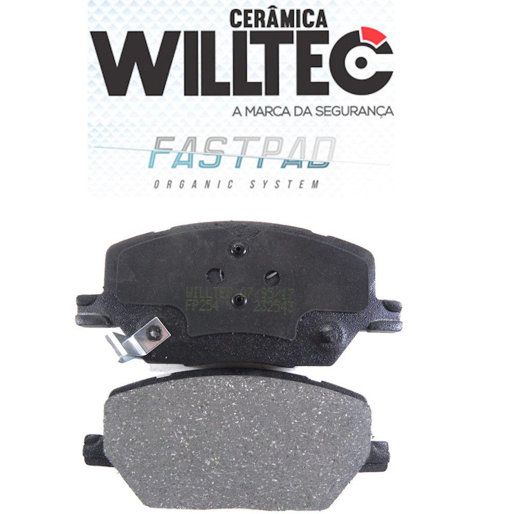 Pastilha Freio Dianteira Cerâmica Compass Renegade Toro Willtec