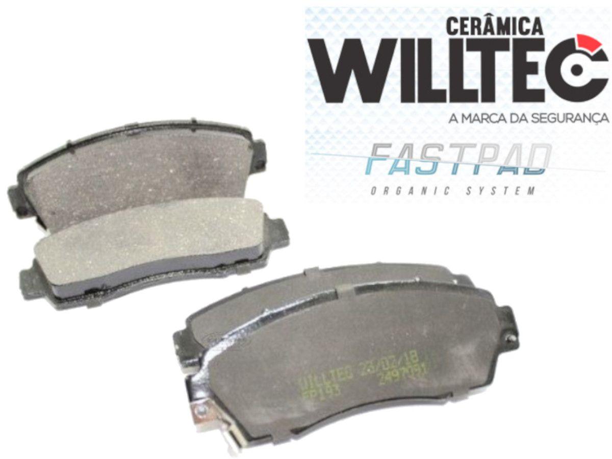 Pastilha Freio Dianteira Cerâmica CRV 4WD 2013 Em Diante Willtec