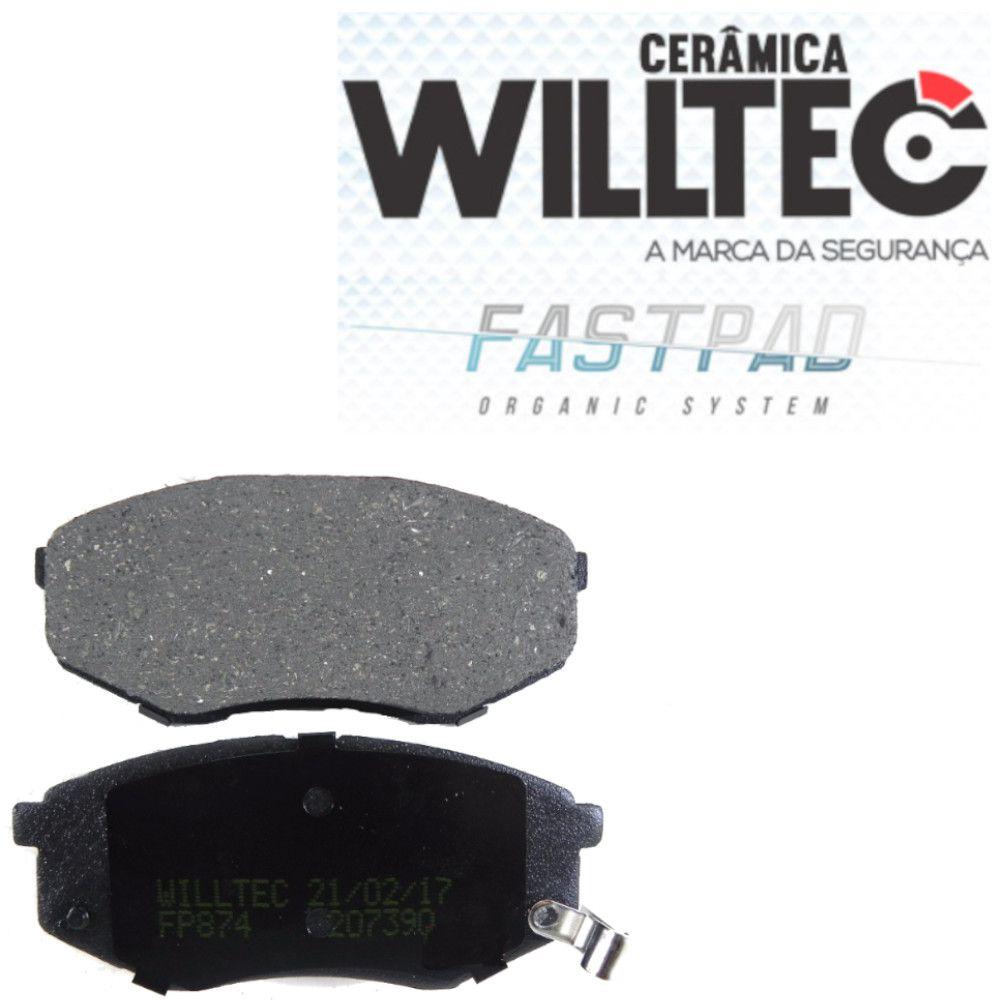 Pastilha Freio Dianteira Cerâmica IX35 2.0 16V 2011 a 2017 Willtec