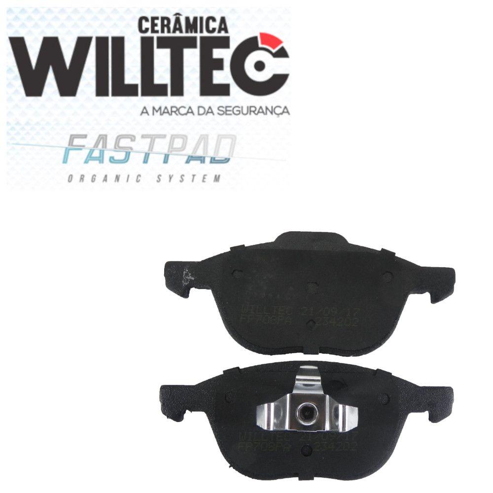 Pastilha Freio Dianteira Cerâmica New Focus Ecosport 2009/2018  Willtec