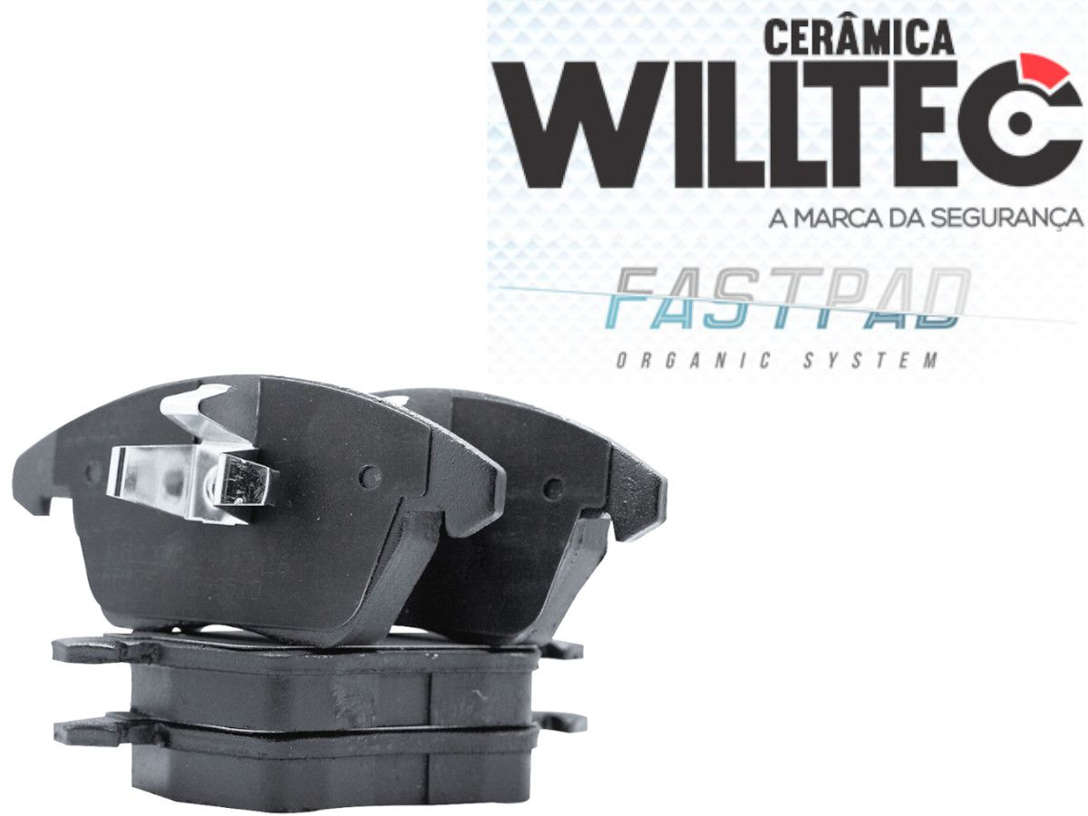 Pastilha Freio Dianteira Cerâmica Freelander 2/ Evoque Willtec
