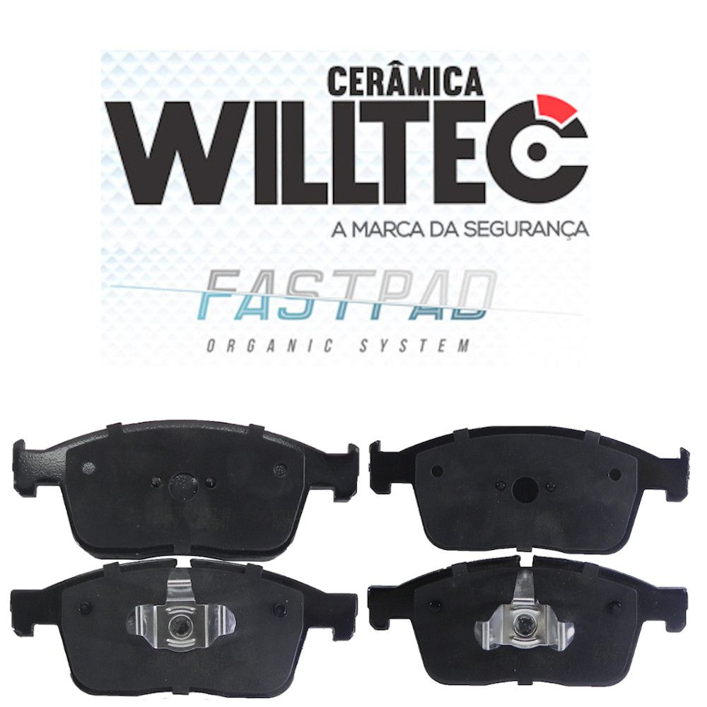 Pastilha Freio Dianteira Cerâmica XC60 2.0 2.4 T5 T6 Willtec