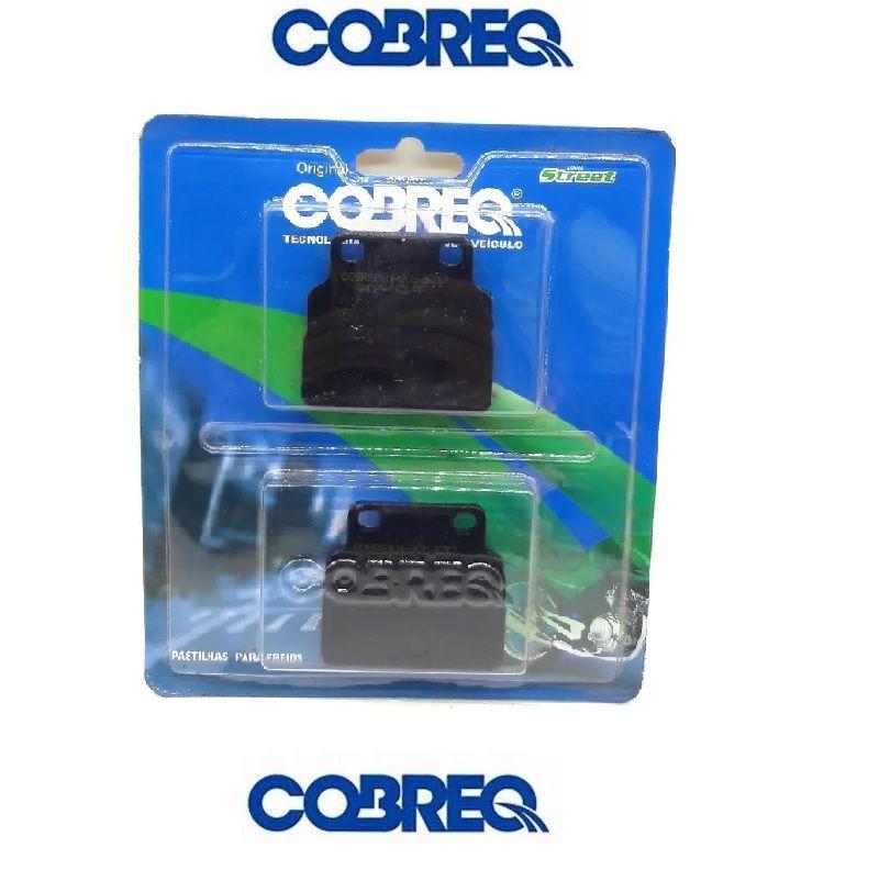 Pastilha Freio Dianteiro Honda CB400/CB450 88/..Cobreq N905