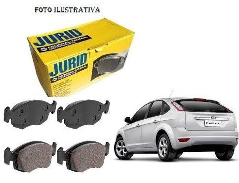 Pastilha Freio Dianteiro New Focus 2009 A 2017 Jogo Jurid