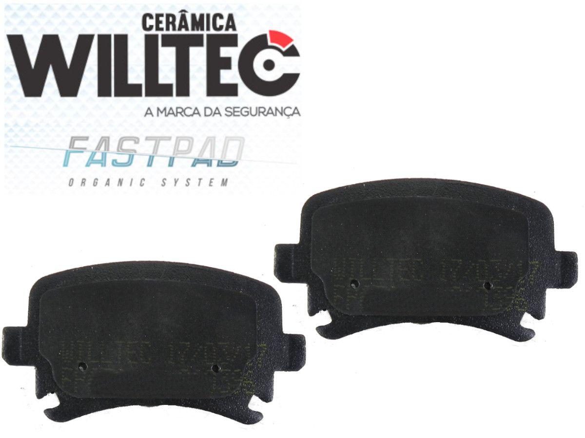 Pastilha Freio Traseira Cerâmica Tiguan 2.0 Jetta 2.0 Willtec