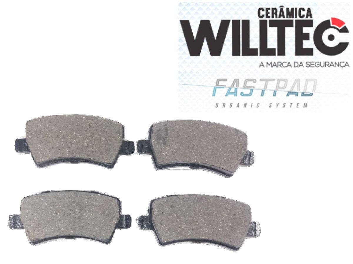 Pastilha Freio Traseira Cerâmica Evoque 2.0 XC60 S60 2011/... Willtec