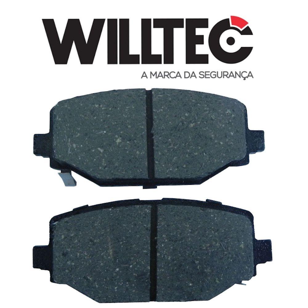 Pastilha Freio Traseira Cerâmica Journey 2012 a 2013 Em Diante Willtec