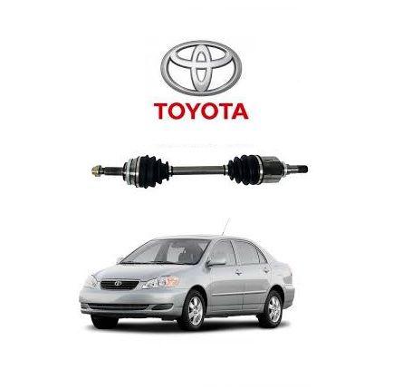 Semi Eixo Toyota Corolla /Fielder de 2003 a 2008 automatico c/ abs lado direito