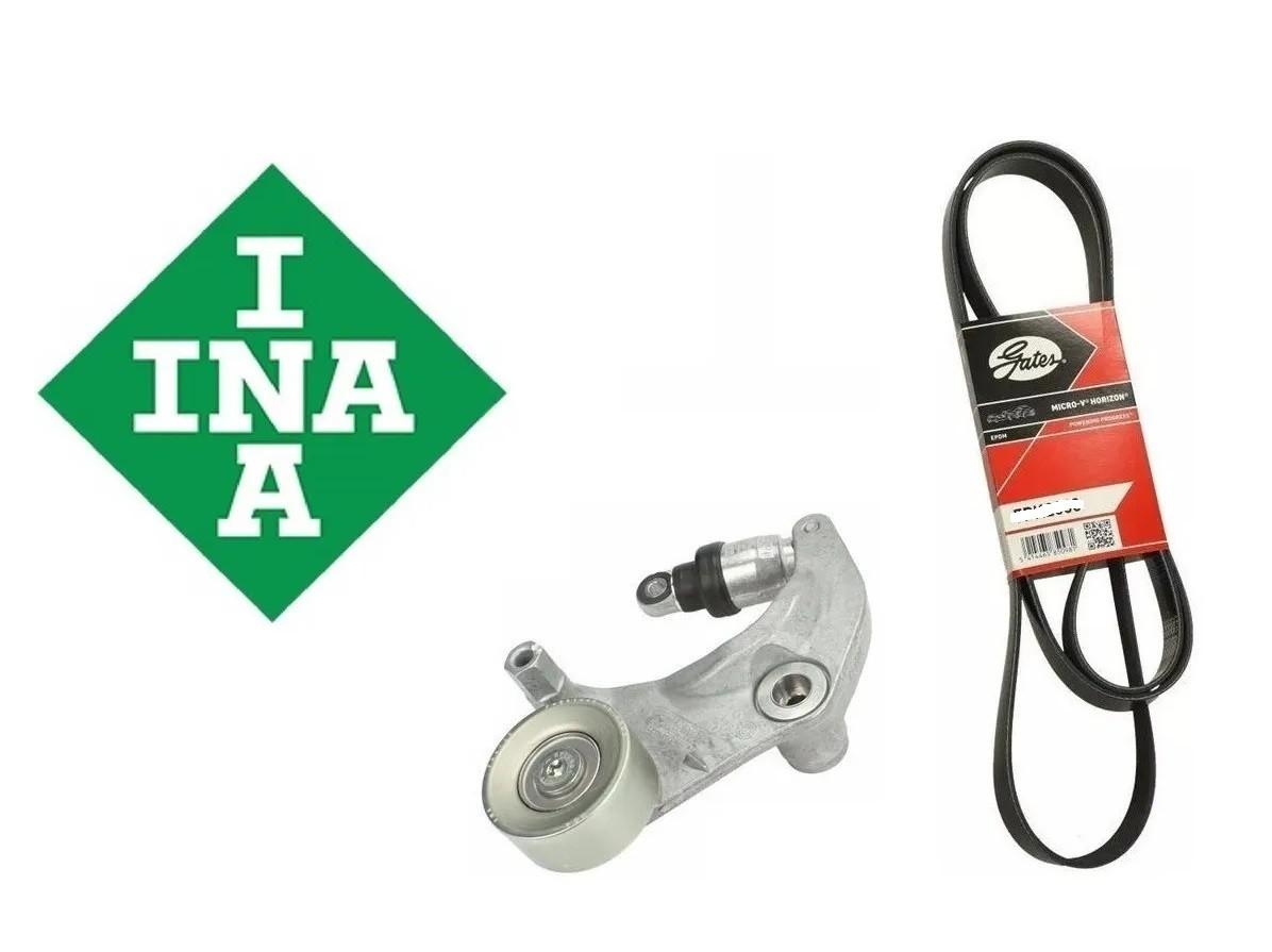 Tensor + Correia Alternador Poly V Crv 2007 a 2011  INA + GATES