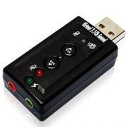 Adaptador de Som USB 7.1 GV