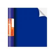 Adesivo Stick Liso Azul Fosco, Contém 1 Rolo, 45cmx10m - Dekorama - 26072