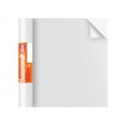 Adesivo Stick Lisos Branco Brilho, Contém 1 Rolo, 45cmx10m - Dekorama - 26059