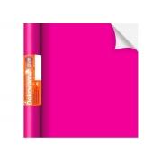 Adesivo Stick Lisos Pink Fosco, Contém 1 Rolo, 45cmx10m - Dekorama - 29059