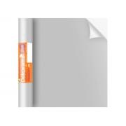 Adesivo Stick Lisos Prata Brilho, Contém 1 Rolo, 45cmx10m - Dekorama - 29057