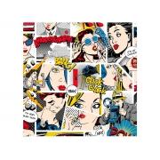 Adesivo Stick Teen Comic's, Contém 1 Rolo, 45cmx10m - Dekorama - 26128