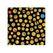 Adesivo Stick Teen Emojis, Contém 1 Rolo, 45cmx10m - Dekorama - 26130