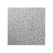 Adesivo Stick Venilia Condessa Prata, Contém 1 Rolo, 45cmx10m - Dekorama - 29781