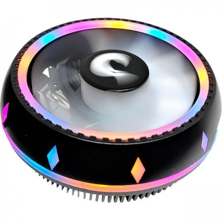 Air Cooler Rise Mode G200 RGB, LED Rainbow, Intel/AMD - RM-AC-02-RGB