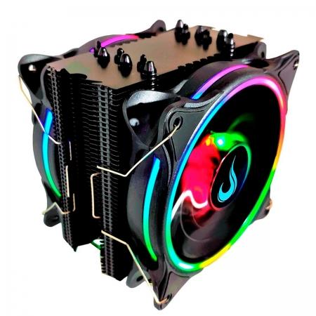 Air Cooler Rise Mode Winter Black ARGB, Intel/AMD - RM-ACW-01-RGB