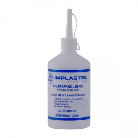 Álcool Isopropanol 99,8% GV Brasil 250ml - ALC.262