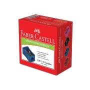 Apontador Simples, Caixa C/ 50 Unidades, Faber Castell - AP/50ZF