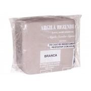 Argila Escolar Branca 1kg, Caixa C/ 14 Pacotes, Rezende - 8