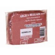 Argila Escolar Vermelha 1kg, Caixa C/ 14 Pacotes, Rezende - 7