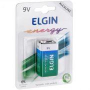 Bateria 9V Alcalina Blister com 1 (82158) Elgin