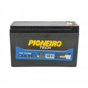 Bateria para Segurança/Nobreak Pioneiro T12-7F2SEG, 12V-7Ah