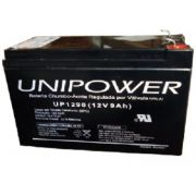 BATERIA UNIPOWER P/NOBREAK 12V 9.0AH F187 UP1290-06C025