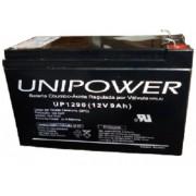 BATERIA UNIPOWER P/NOBREAK 12V 9.0AH F187 UP1290-06C025