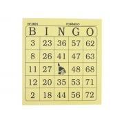 Bingo Jornal, 100 Folhas, Contém 15 Unidades, Tamoio - 06001