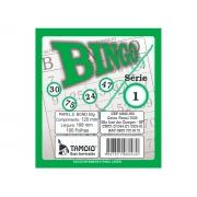 Bingo Verde, 100 Folha, Contém 15 Unidades, Tamoio - 06003