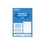 Bloco de Pedido Com Cópia Azul 1/36, 25 Folhas 2 Vias, Contém 20 Unidades, São Domingos - 6653