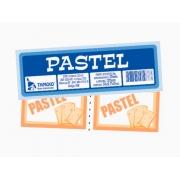 Bloco Ficha de Pastel, 50 x 02 Folhas, Pacote Com 10 Blocos, Tamoio - 01971