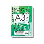 Bloco para Desenho A3, 180 g, 20 Folhas, Caixa Com 05 Unidades Pauta Branca - 524309
