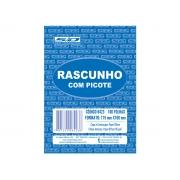 Bloco Rascunho Com Picote, 115 x 160 mm, 100 Folhas, Contém 20 Unidades, São Domingos - 6423