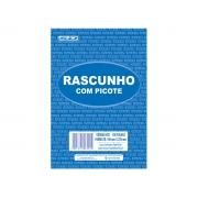 Bloco Rascunho Com Picote, 160 x 225 mm, 100 Folhas, Contém 10 Unidades, São Domingos - 6421