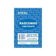 Bloco Rascunho Com Picote, 80 x 115 mm, 80 Folhas, Contém 20 Unidades, São Domingos - 6427