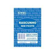 Bloco Rascunho Sem Picote, 80 x 115 mm, 100 Folhas, Contém 20 Unidades, São Domingos - 6461