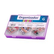 BOX ORGANIZADOR PARAMOUNT ROXO G COLOR - 706