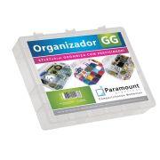 BOX ORGANIZADOR PARAMOUNT TRANSPARENTE NRO 3/ 37 X 27 X 6 CM - 163